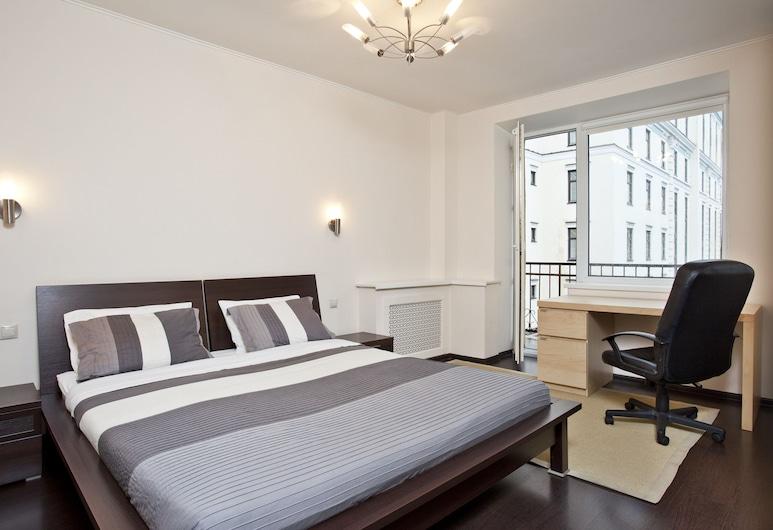 Moscow Suites Tverskaya, Moskwa, Apartament typu Deluxe, 1 sypialnia, Pokój