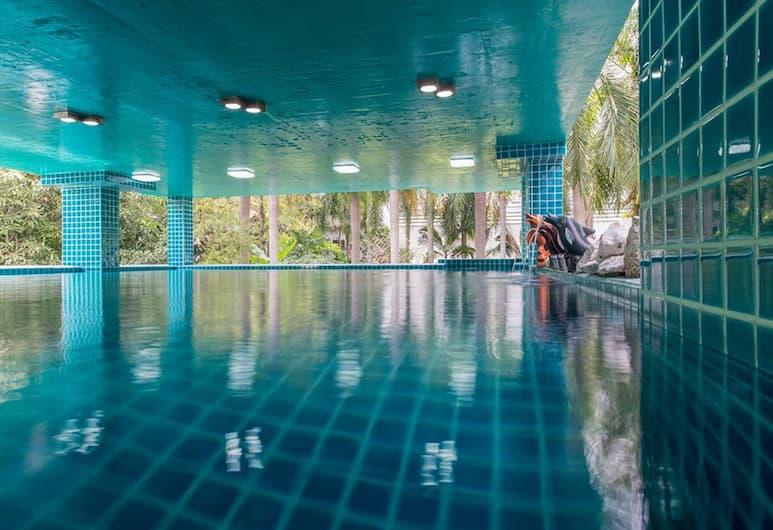 iCheck Inn Residences Sathorn, Bankokas, Vidaus / lauko baseinas