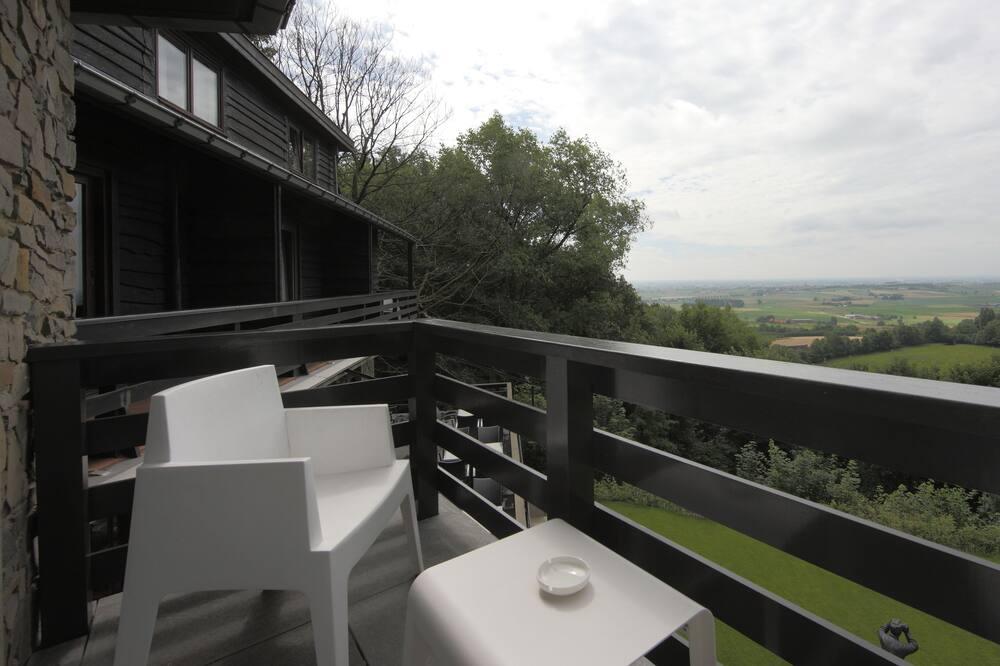 Chambre Double Standard, vue vallée - Balcon