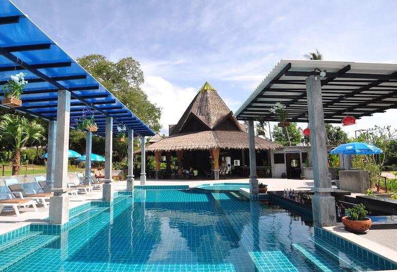 蘇美島蜜月套房, 蘇梅島, 室外泳池