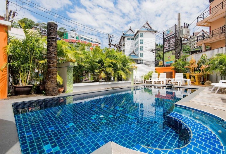 Bauman Ville Hotel, Patong, Outdoor Pool