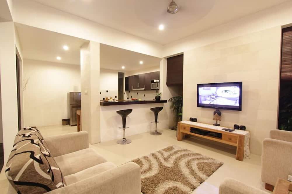 Villa, 2 Bedrooms, Private Pool - Living Area