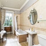 Deluxe-Doppelzimmer, mit Bad, Gartenblick (Garden View Room 2) - Badezimmer