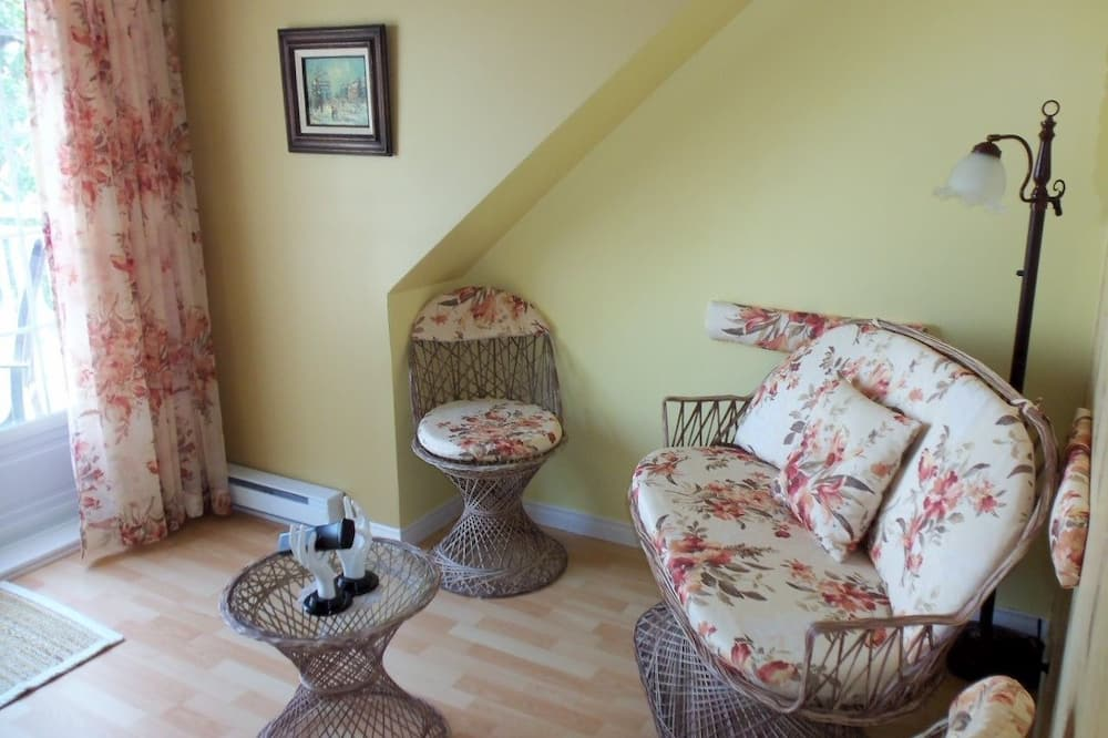 套房, 壁爐 (Therapeutic bathtub) - 客廳