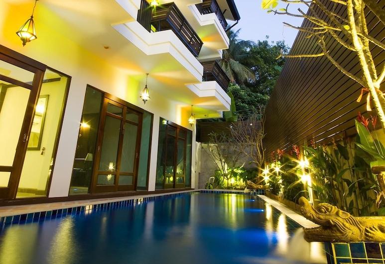 巴安拉洽安薩恩酒店, 清邁, 室外泳池