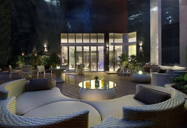 아이클럽 슝완 호텔, 홍콩, 안뜰