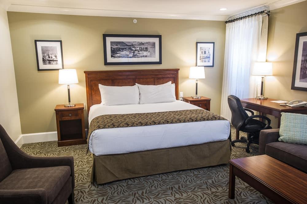 豪華客房, 1 張加大雙人床 - 客廳