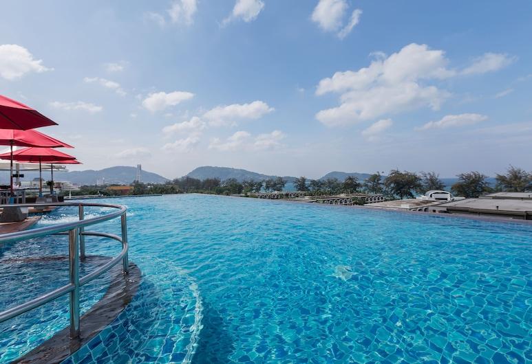 The Charm Resort Phuket, Patong, Piscina con borde infinito