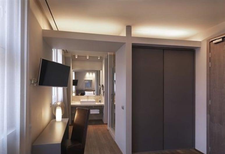 Posta Design Hotel, Como, Deluxe-huone, Vierashuone