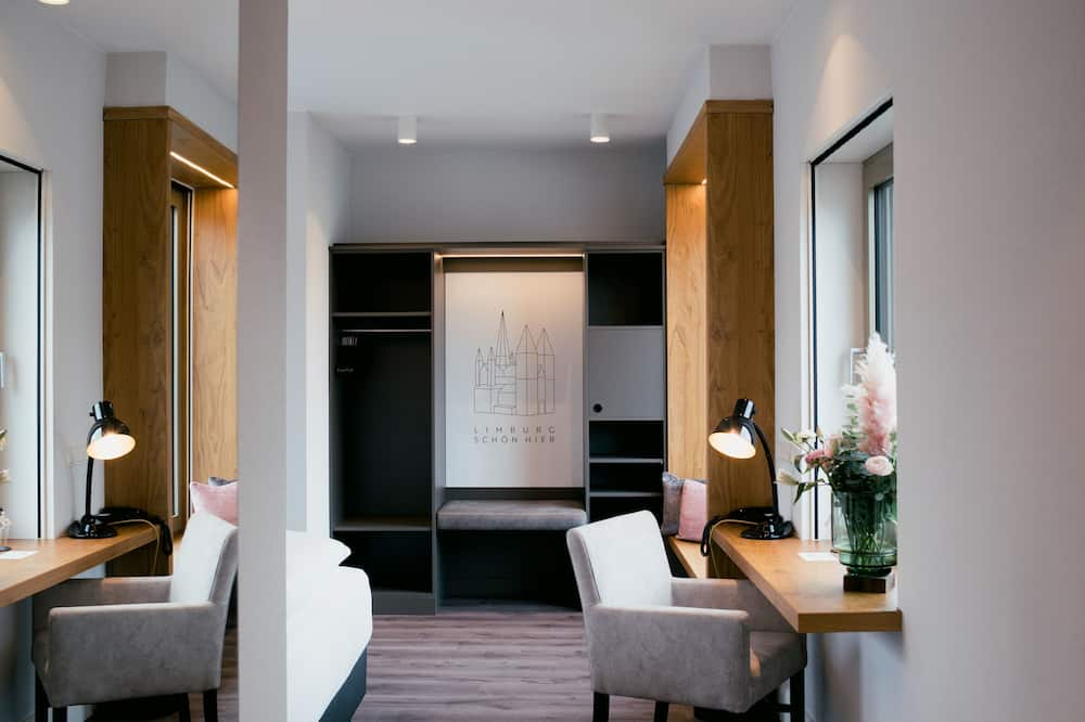 Habitación doble panorámica - Sala de estar