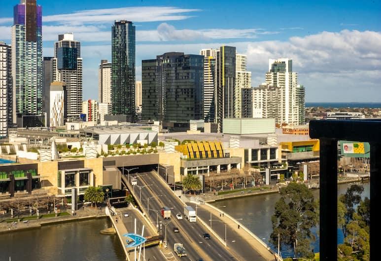 Riverside Apartments Melbourne, Melbourne, Two Bedroom Riverview Apartment - Riverside Tower , View from room