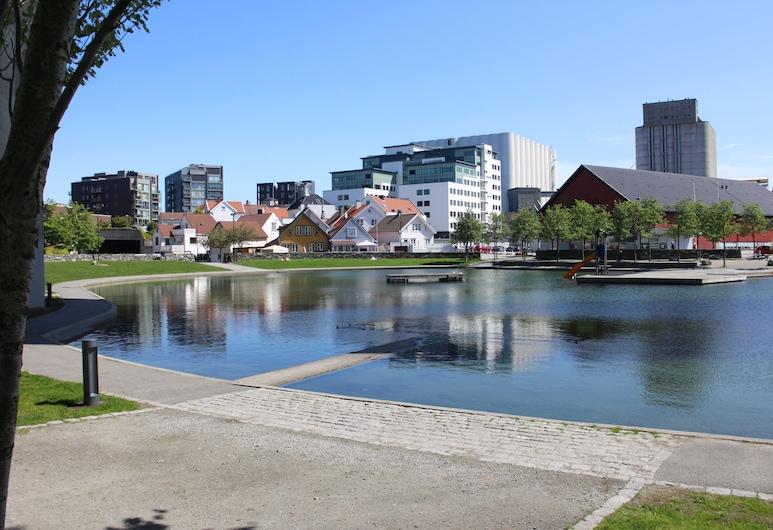 Stavanger Small Apartments City Center, Stavanger, Pogled na ulicu