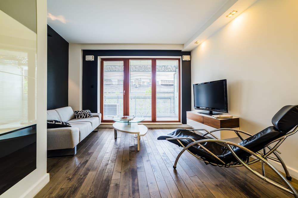 Apartmán, 1 spálňa (For 2) - Obývačka