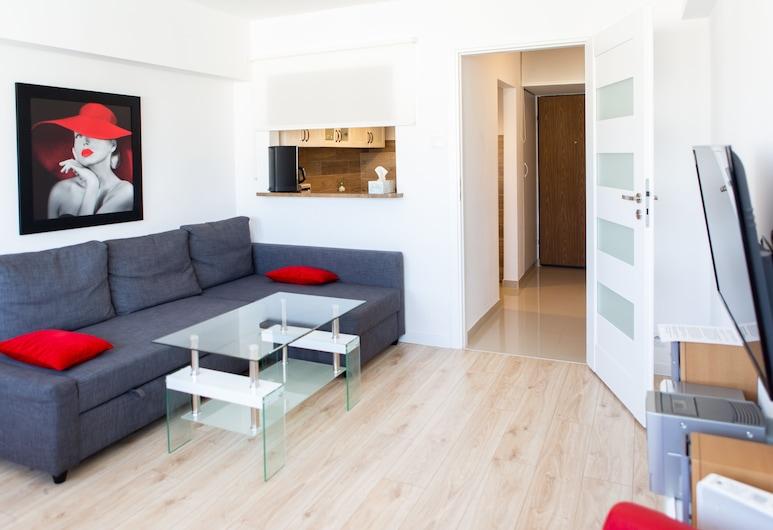 bonApartments, Warsaw, Deluxe Apartment, Living Room