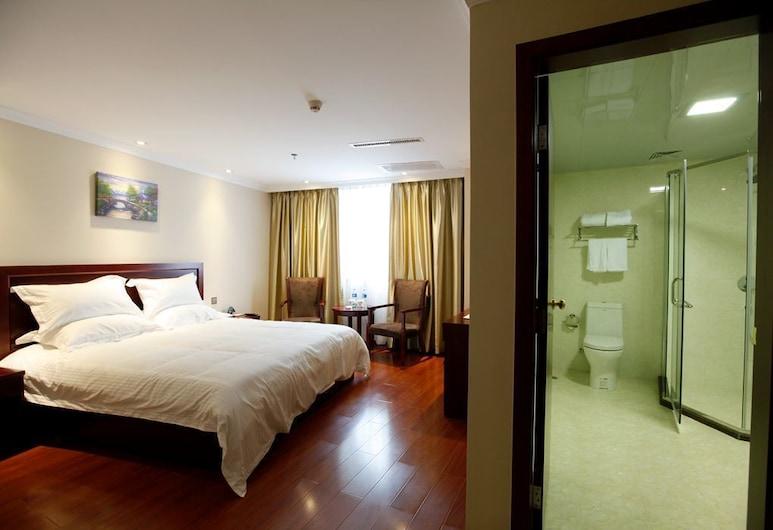 GreenTree Inn Shantou Jinhu Road Business Hotel, Shantou, Deluxe Room, 1 King Bed, Guest Room