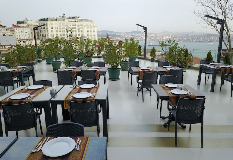 Style Star Hotel Cihangir, Istanbul, Terrazza/Patio