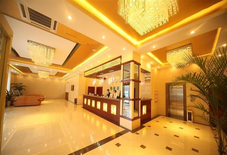 Greentree Inn Jiujiang Shili Road Business Hotel, ג'יוג'יאנג, לובי