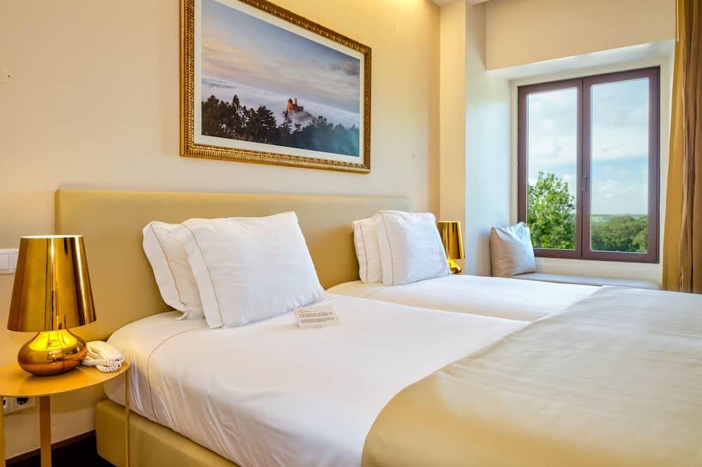 Pokój z 2 pojedynczymi łóżkami typu Superior - Z widokiem na miasto