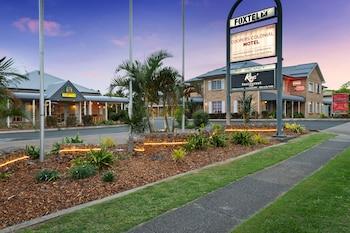 Brisbane bölgesindeki Coopers Colonial Motel resmi