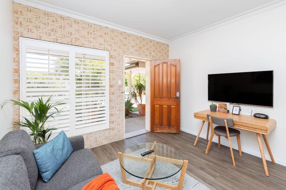 Studiové apartmá typu Executive, dvojlůžko (200 cm) - Obývací prostor