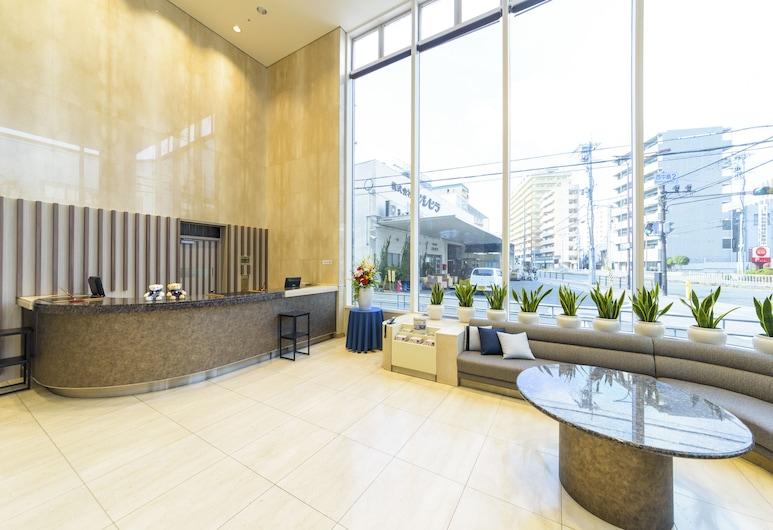 新大阪貝斯特韋斯特普拉斯修爾住宿酒店, 大阪, 大堂閒坐區