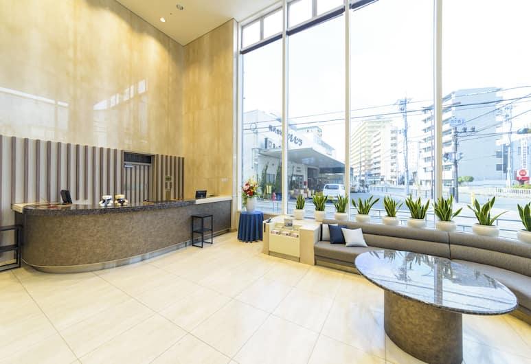 シュアステイプラスホテル by ベストウェスタン新大阪, 大阪市, ロビー応接スペース