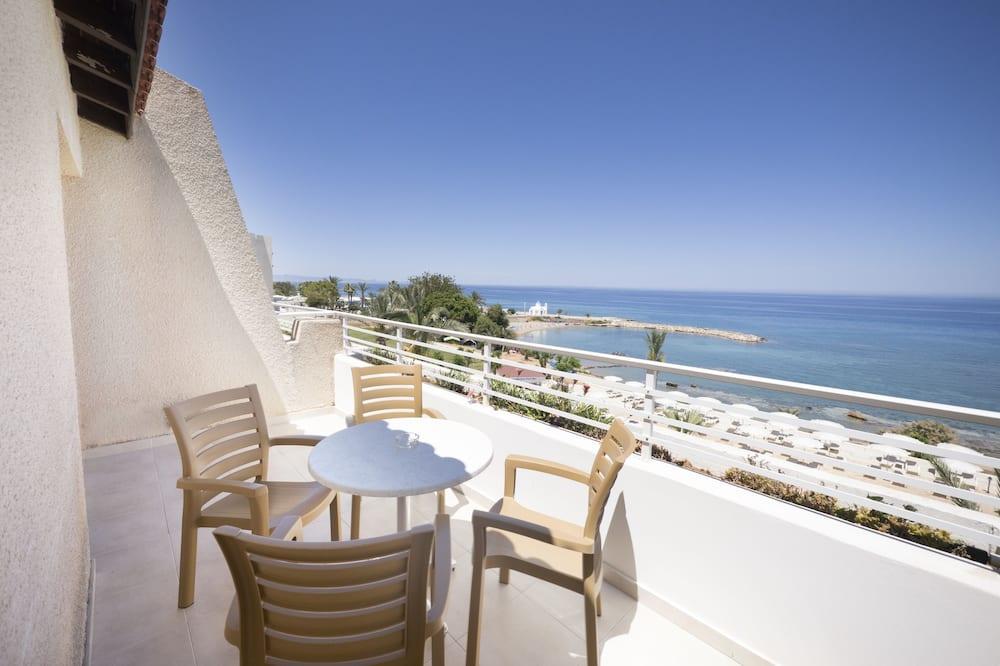 Appartement, 1 slaapkamer, Uitzicht op zee - Balkon