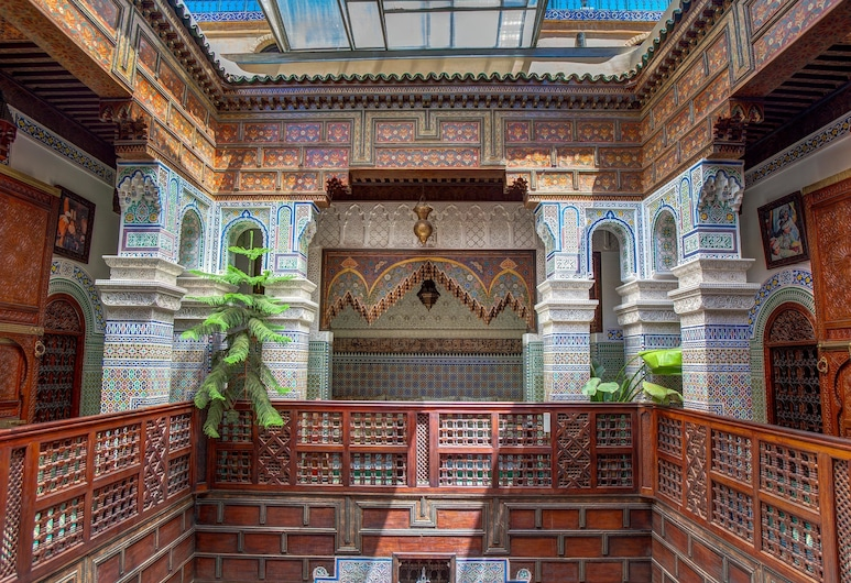 Riad Rcif, Fes, Property Grounds