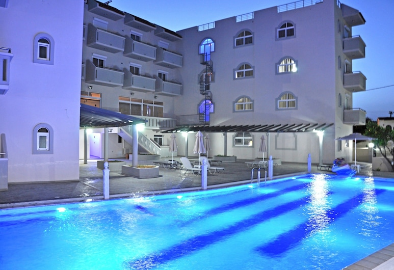 Daniel Luxury Apartments, Rodos, Utendørsbasseng