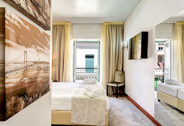 Hotel LX Rossio, Lisboa, Gjesterom