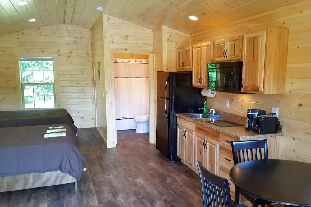 Deluxe Μικρό Σπίτι, 1 Υπνοδωμάτιο, Μη Καπνιστών, Κουζινούλα - Γεύματα στο δωμάτιο