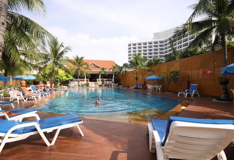 Twin Palms Resort, Pattaya, Bazén