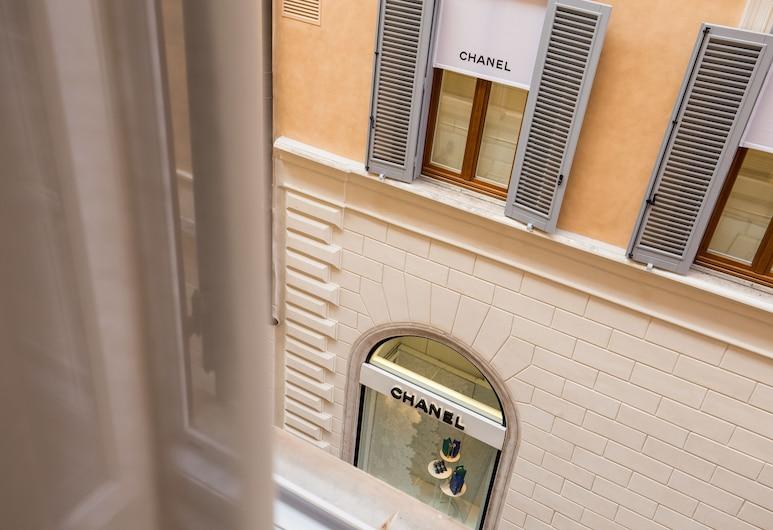 Rome55 - Piazza di Spagna, Rome, View from Hotel