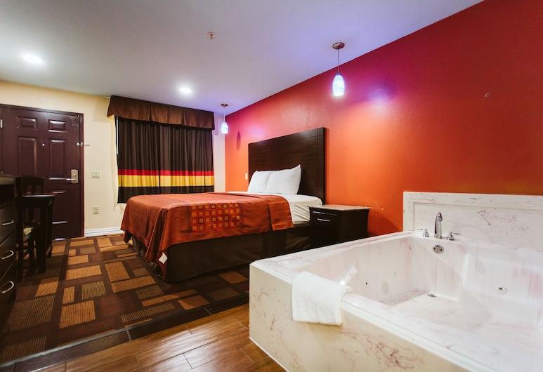 Home Place Inn, Houston, Liukso klasės numeris, 1 labai didelė dvigulė lova, Rūkantiesiems, sūkurinė vonia, Svečių kambarys