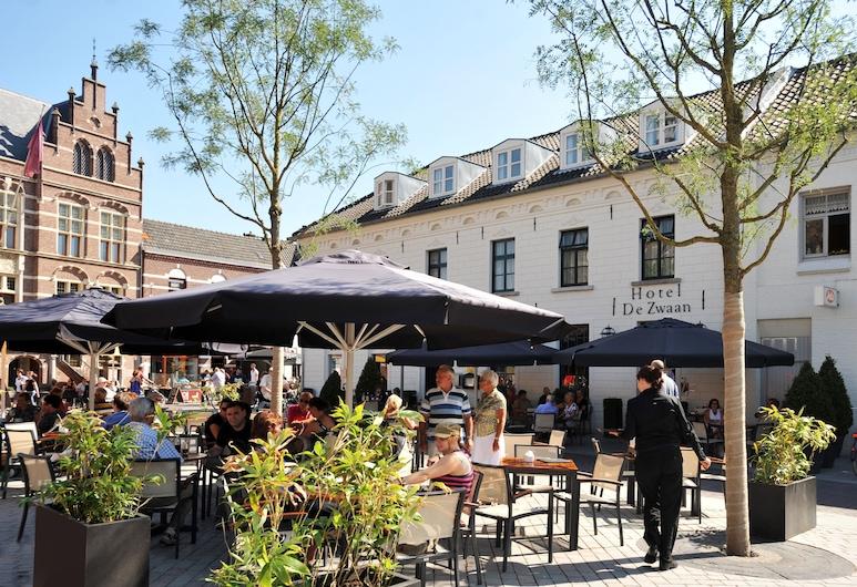 Hotel & Brasserie de Zwaan, Venray, Teres/Laman Dalam