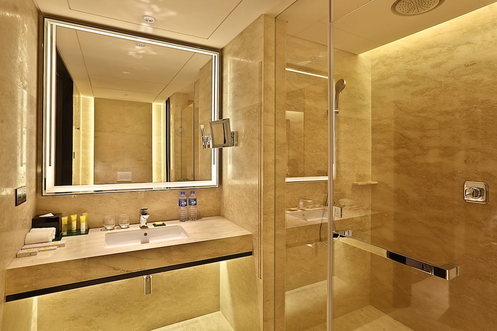 Room with 1 King Bed and no Sofa Bed - Bathroom