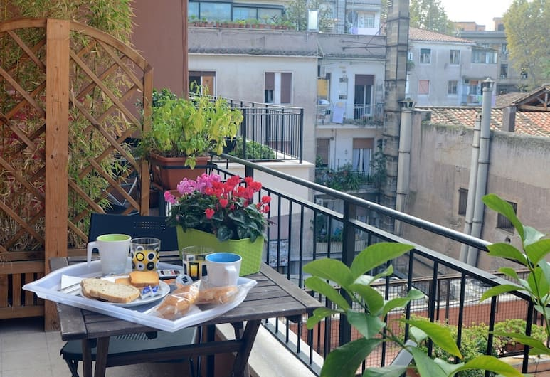 B&B Zen Trastevere, Rome, Double Room, Balcony