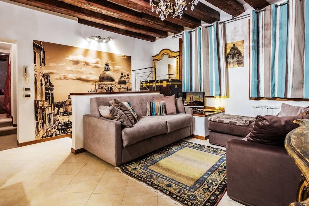 Apartment, 2 Bedrooms, 2 Bathrooms (Cannaregio Casinò) - Living Area