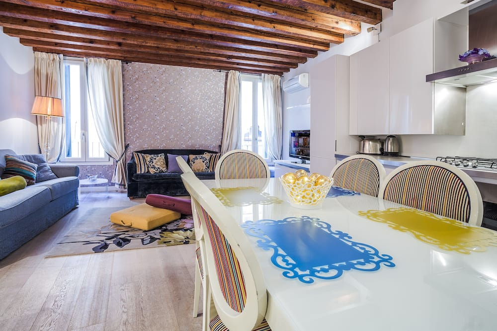 Deluxe Apartment, 1 Bedroom (Location: San Marco 4960) - In-Room Dining