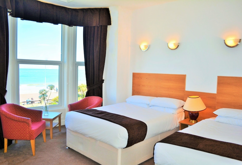 Four Saints Brig-Y-Don Hotel, Llandudno, Triple Room, Sea View, Guest Room