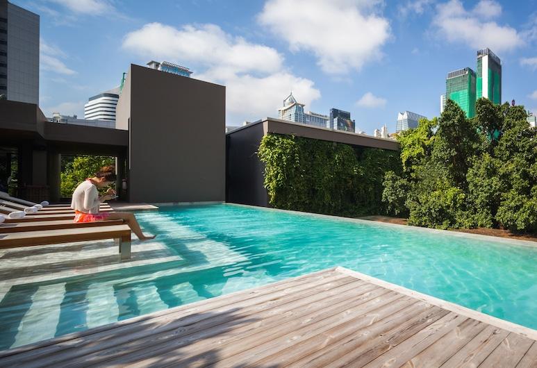 アド リブ, バンコク, 屋上プール