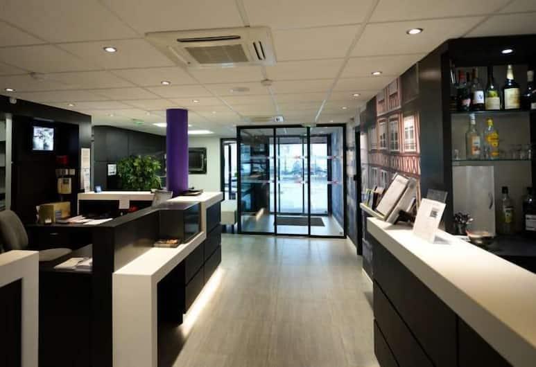 Brit Hotel Confort Rouen Centre, Rouen, Lobby