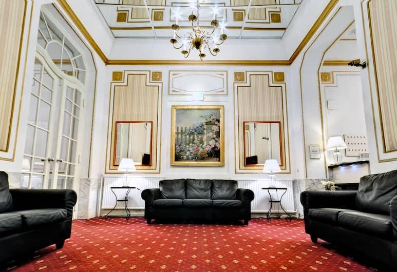 Hotel Viktoria, Viin, Puhkeala fuajees