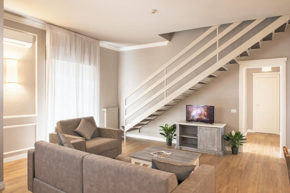 Pokój dwuosobowy z 1 lub 2 łóżkami typu Premium - Salon