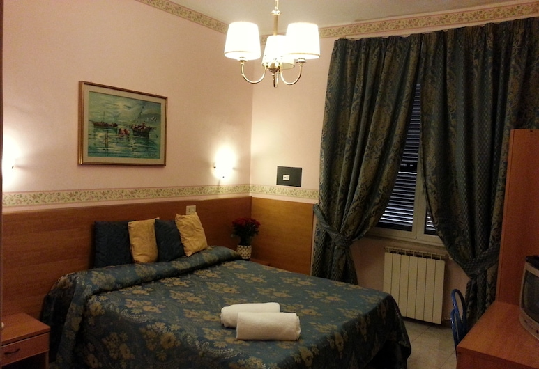 Hotel Ventura Rome, Roma, Rom – basic, Gjesterom