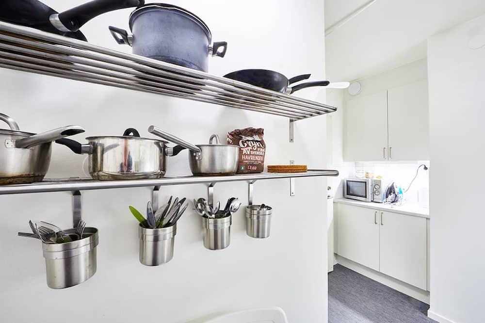 trivietis kambarys - Bendra virtuvė
