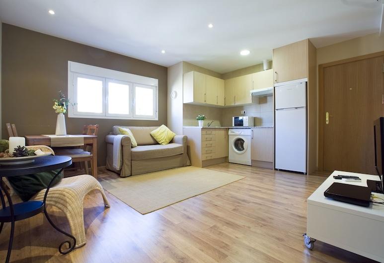 Apartamentos APR Numancia, מדריד, דירת בייסיק, מיטה זוגית, נוף לעיר (3 people), אזור מגורים