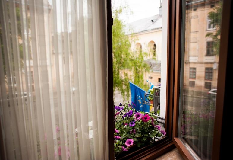 Saint Feder, Lvovas, Vaizdas iš viešbučio