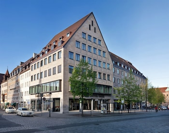 Foto van Sorat Hotel Saxx Nürnberg in Neurenberg