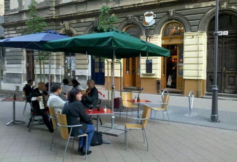 Garden House Budapest, Budapeszt, Widok z hotelu